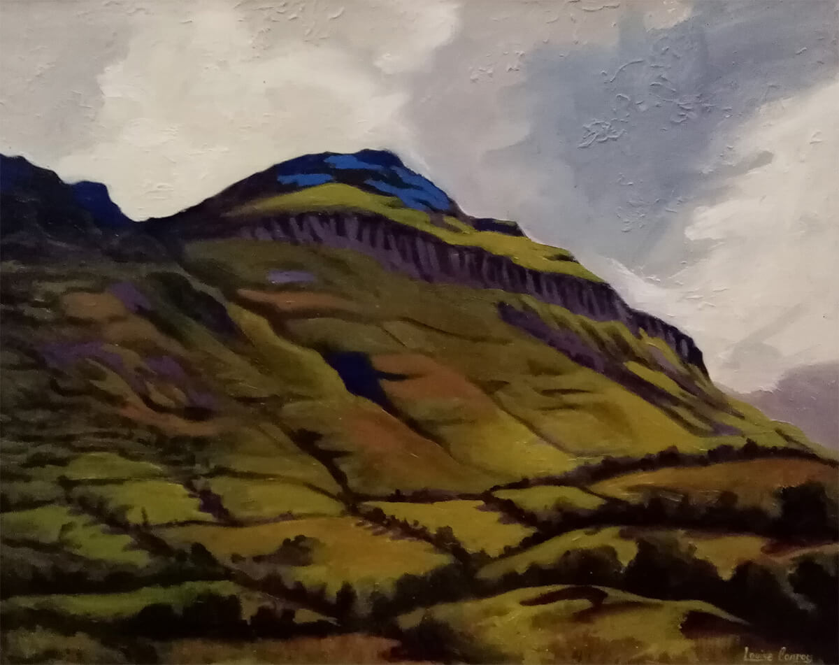 Glencar Mountain Sligo by Louise Conroy
