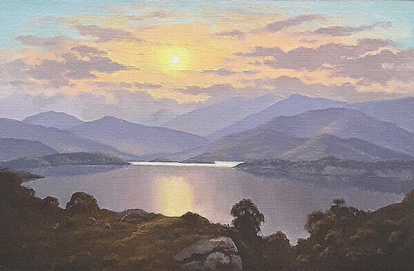 Upper Lakes Killarney by Michael McCarthy